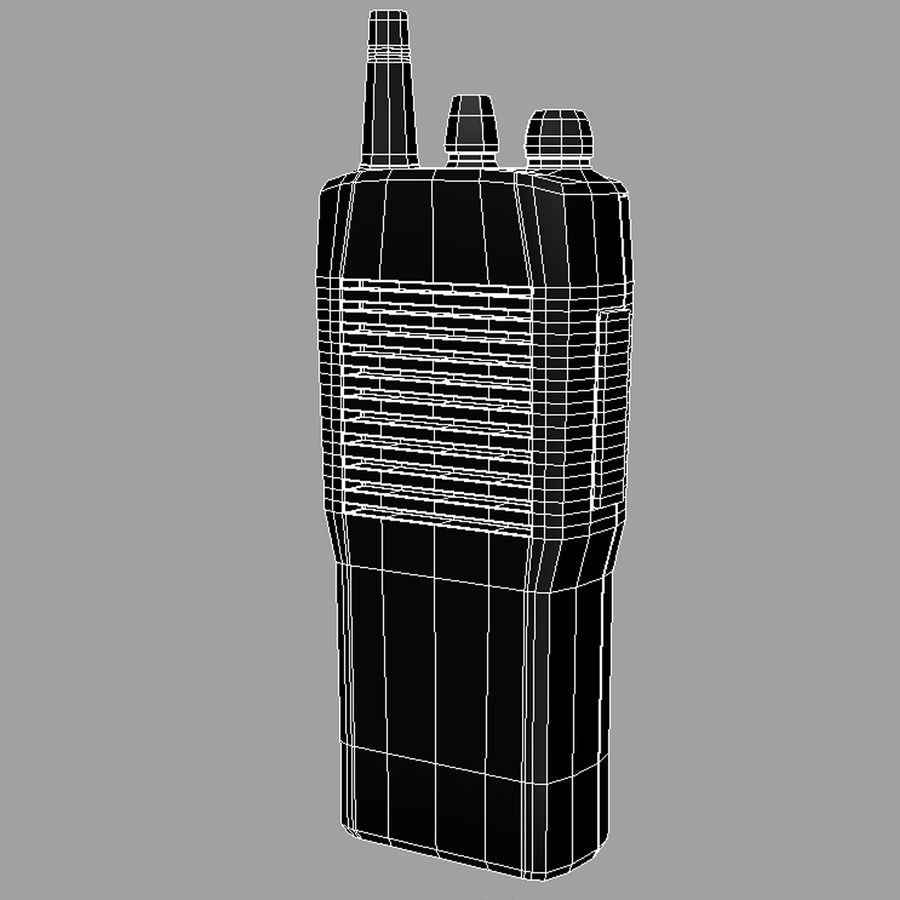 Walkie Talkie royalty-free 3d model - Preview no. 4