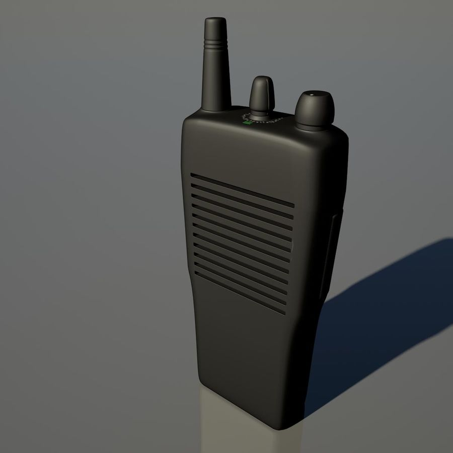 Walkie Talkie royalty-free 3d model - Preview no. 1