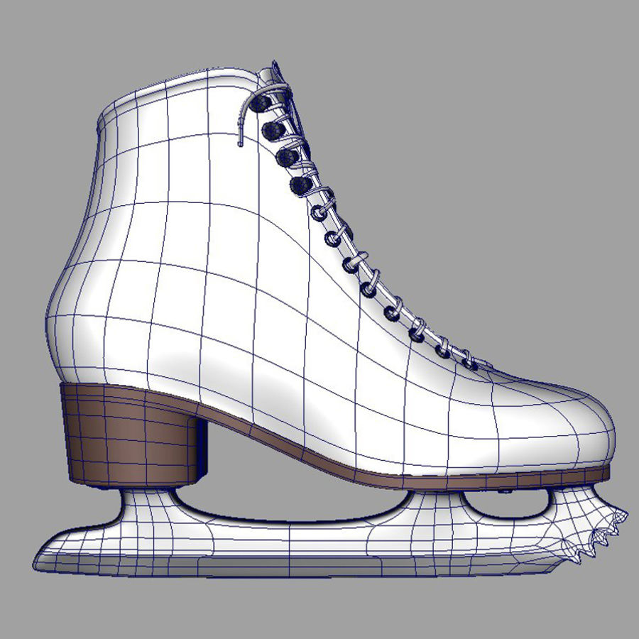 Ice Skates royalty-free 3d model - Preview no. 7