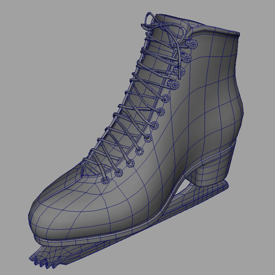 Ice Skates royalty-free 3d model - Preview no. 5
