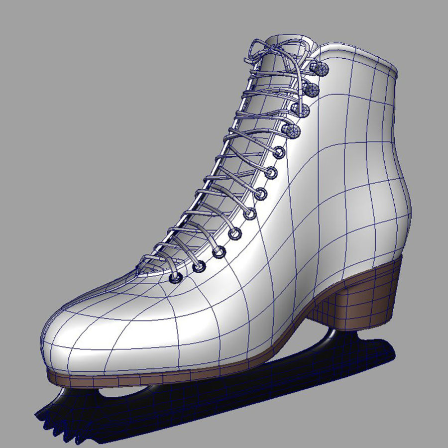 Ice Skates royalty-free 3d model - Preview no. 8