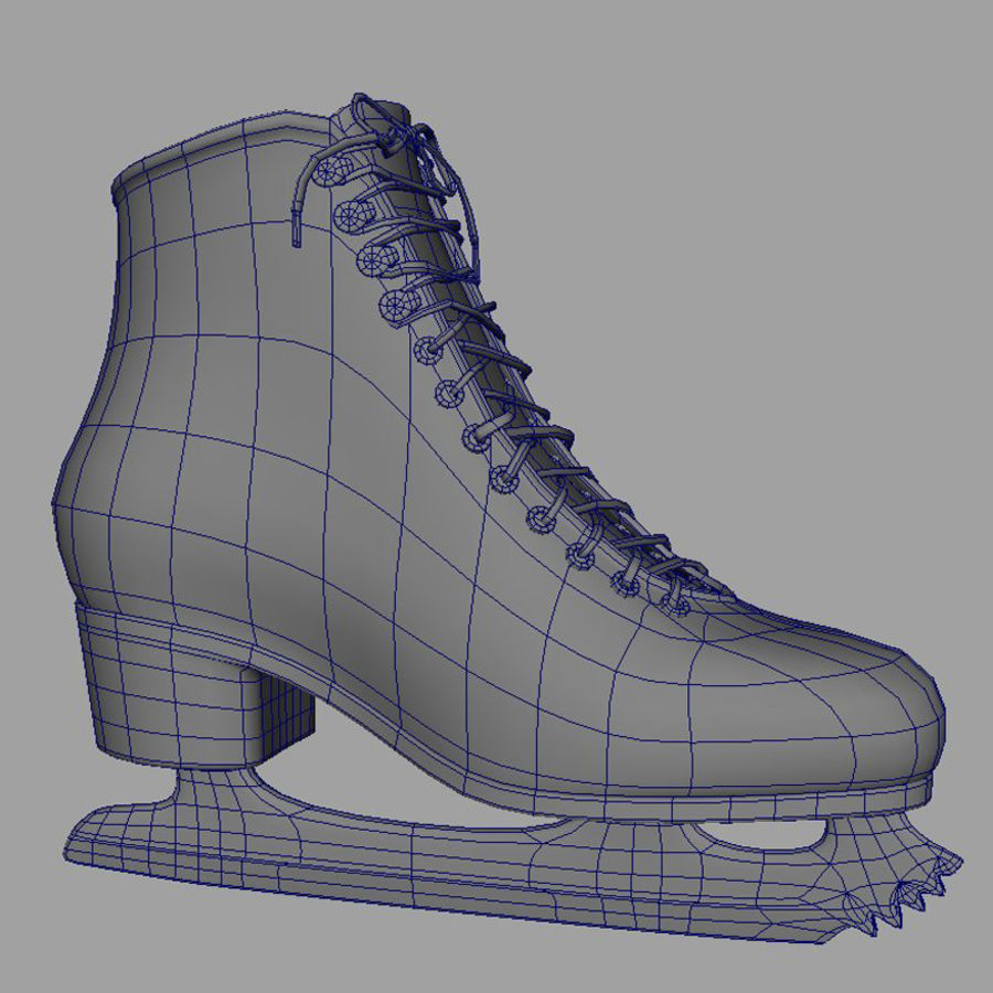 Ice Skates royalty-free 3d model - Preview no. 4