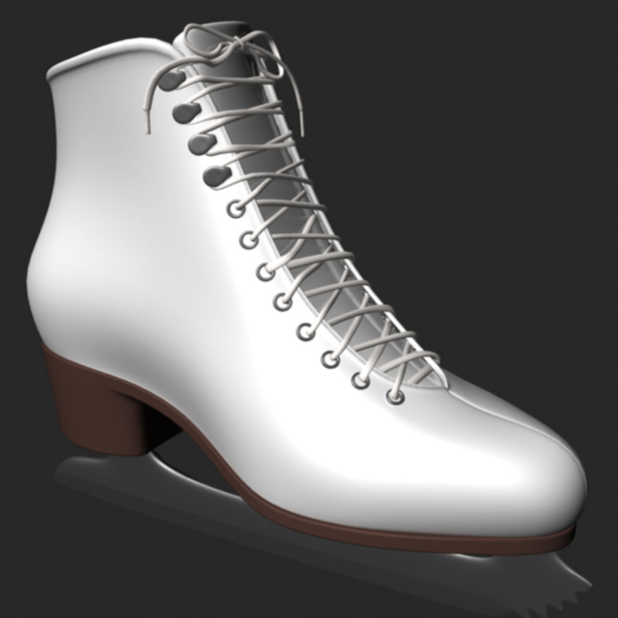 Ice Skates royalty-free 3d model - Preview no. 2