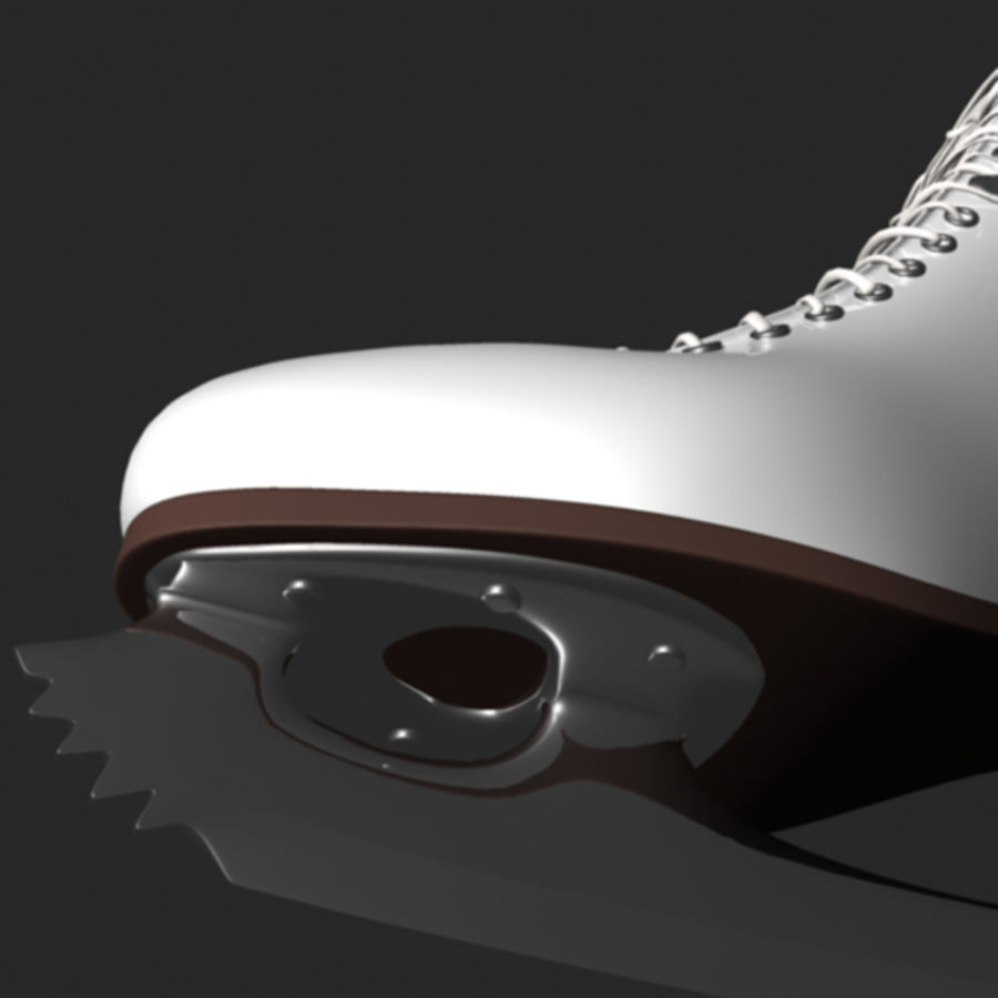 Ice Skates royalty-free 3d model - Preview no. 3