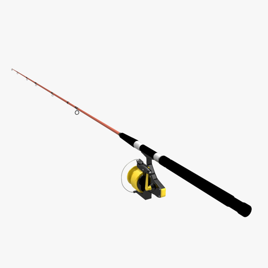 Saltwater fishing rod reel 3d model 25 obj ma free3d for Ma saltwater fishing license