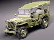 Jeep Willys MB 3d model