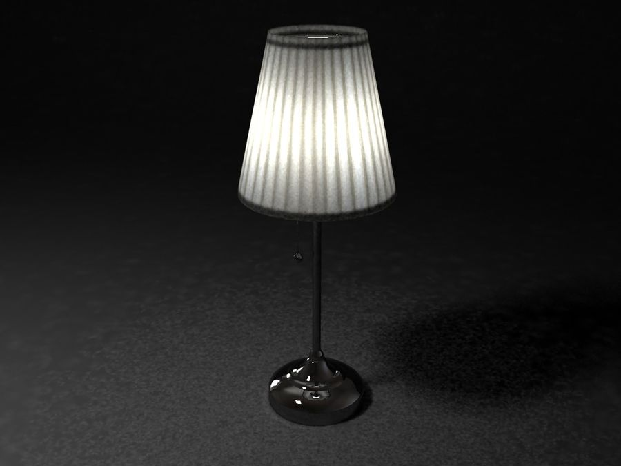 02 3d10objmax3ds Free3d Q354lajcr Lampe Modèle Ikea 6gyvf7Yb