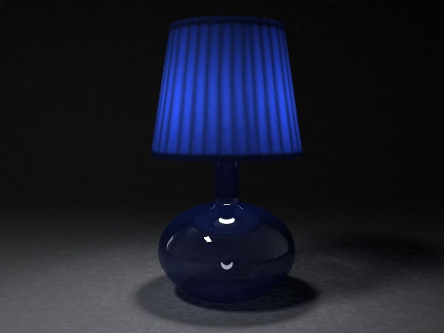 Ikea Lamp 07 royalty-free 3d model - Preview no. 1