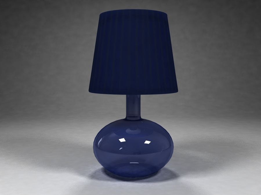 Ikea Lamp 07 royalty-free 3d model - Preview no. 2