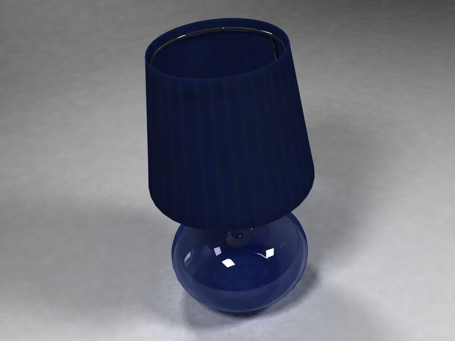 Ikea Lamp 07 royalty-free 3d model - Preview no. 4
