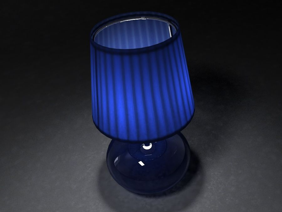 Lampa Ikea 07 royalty-free 3d model - Preview no. 5