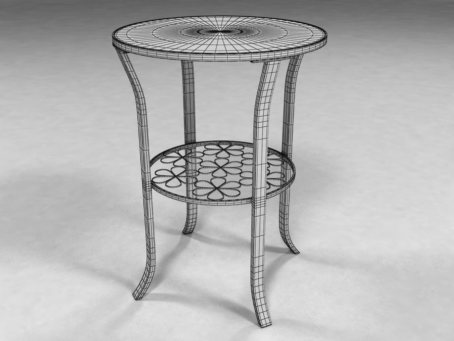Ikea Side Table 3d Model 9 Max Obj 3ds Free3d