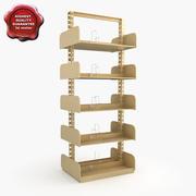 Bookshelves V3 3d model