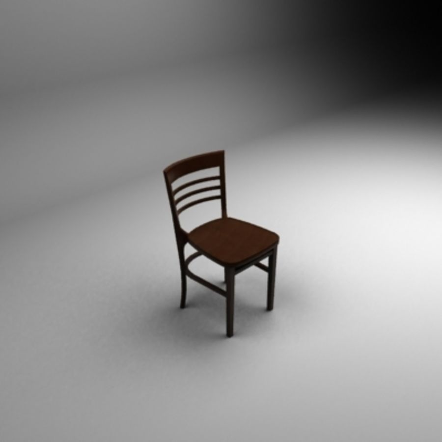 Bahamas Chair royalty-free 3d model - Preview no. 2
