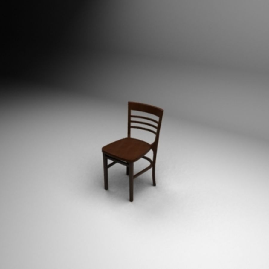 Bahamas Chair royalty-free 3d model - Preview no. 1