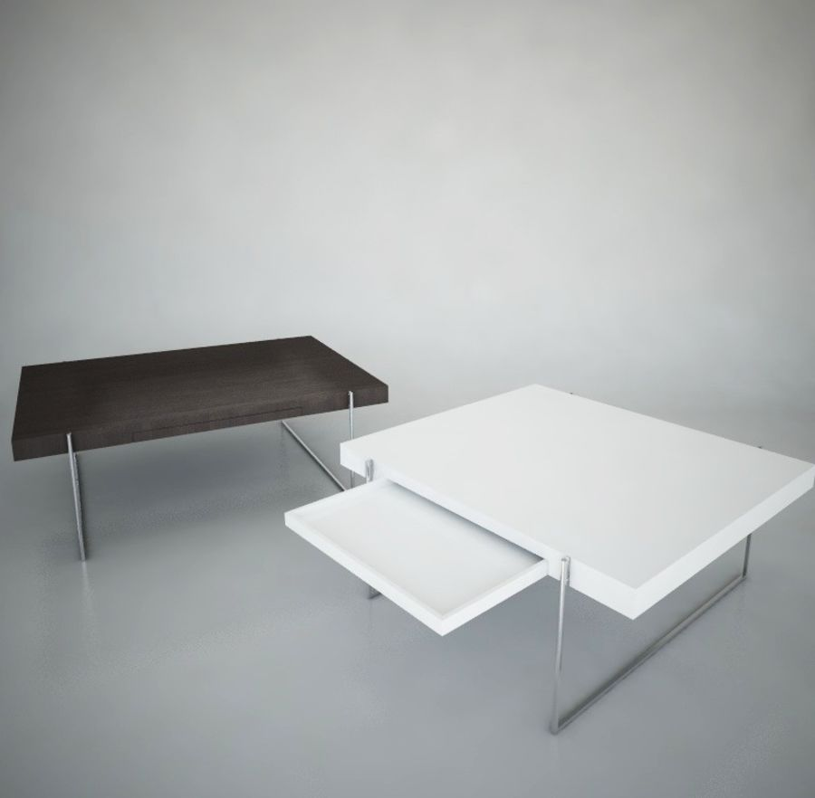 Kyoto Coffee Table , Die Collection 3d Model