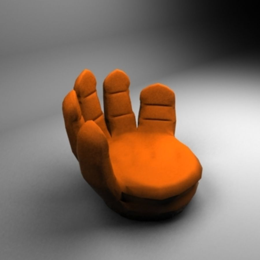 Hand couch royalty-free 3d model - Preview no. 2