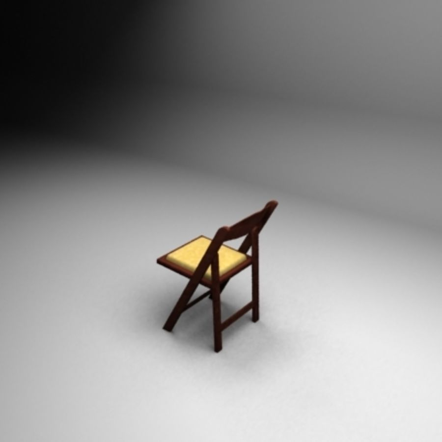 Garden Flip Chair royalty-free 3d model - Preview no. 1