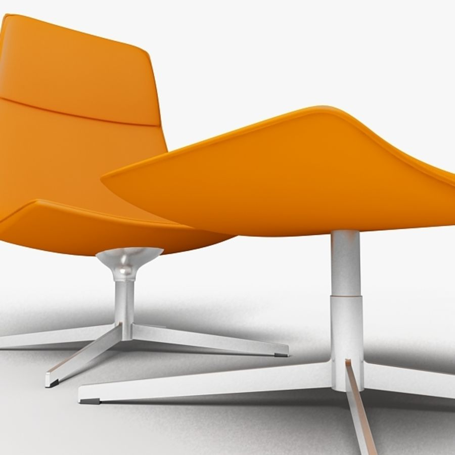 Catifa 70 Lounge Chair royalty-free 3d model - Preview no. 5
