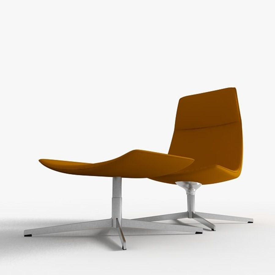 Catifa 70 Lounge Chair royalty-free 3d model - Preview no. 2