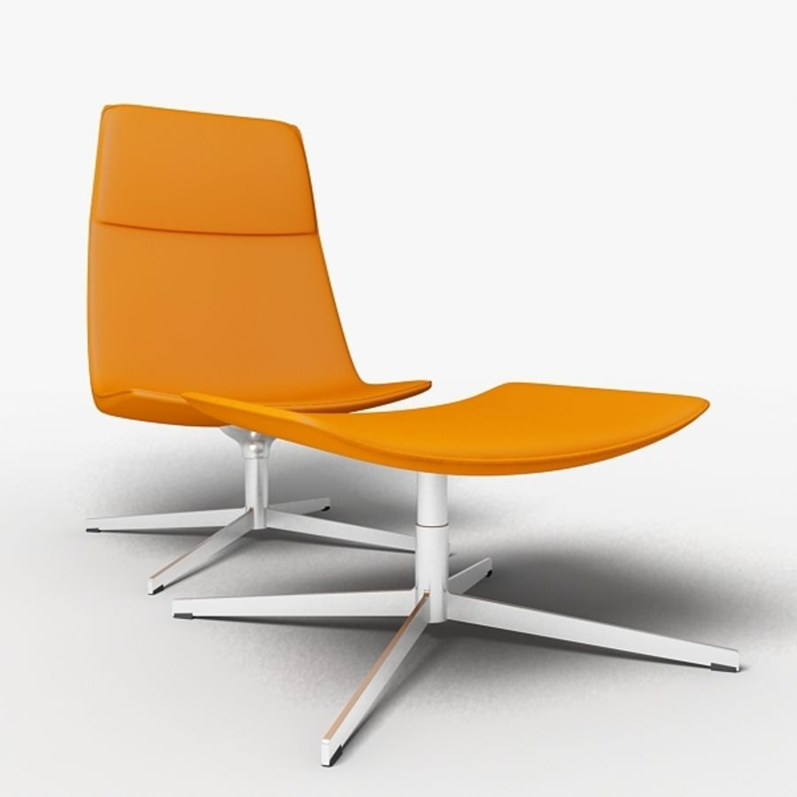 Catifa 70 Lounge Chair royalty-free 3d model - Preview no. 4
