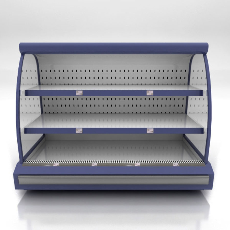 Chilled Shelving Small royalty-free 3d model - Preview no. 2