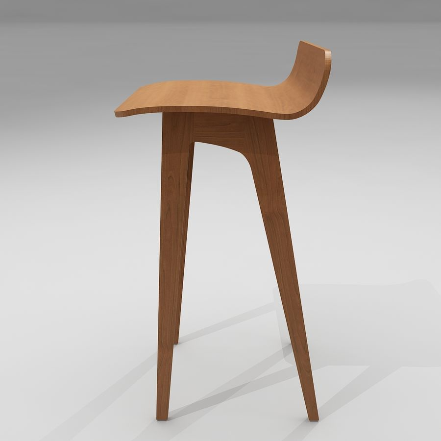 Bar Stool 21   Morph By Formstelle Royalty Free 3d Model   Preview No.
