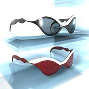 Sun glasses 03 3d model