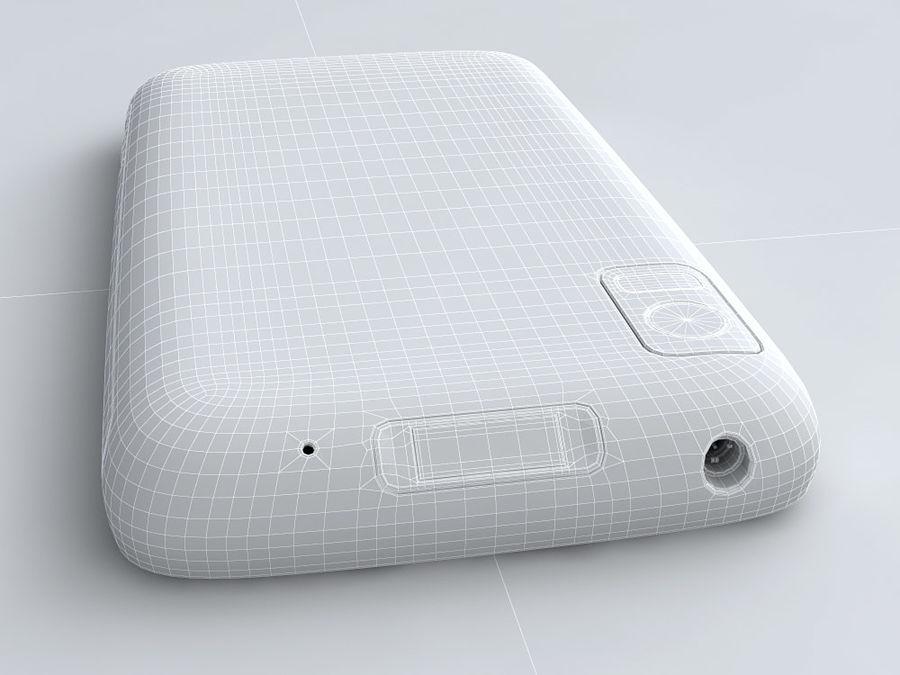 Motorola Atrix royalty-free 3d model - Preview no. 24