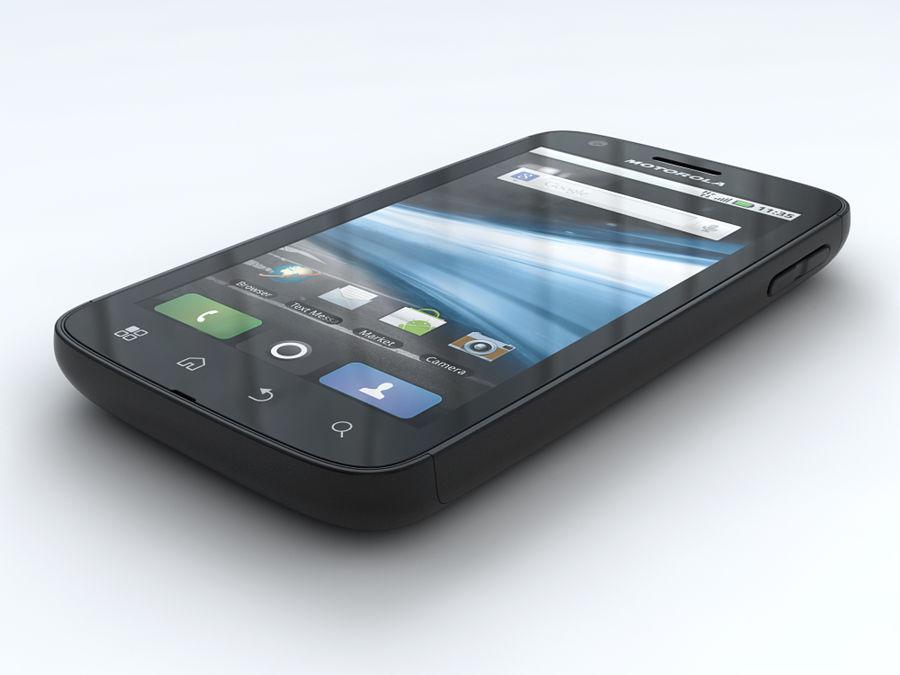 Motorola Atrix royalty-free 3d model - Preview no. 3