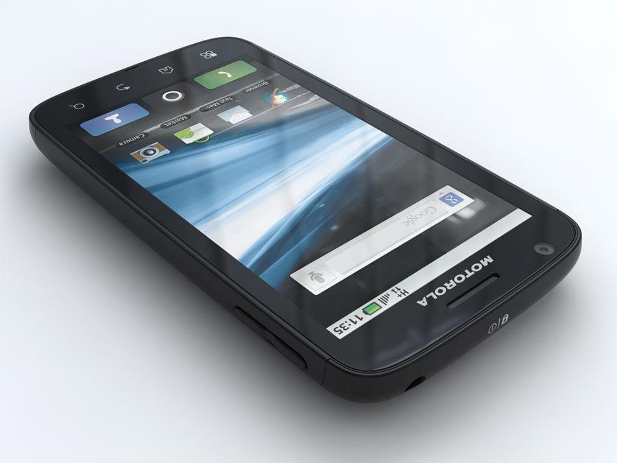 Motorola Atrix royalty-free 3d model - Preview no. 2