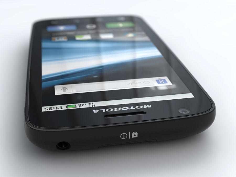 Motorola Atrix royalty-free 3d model - Preview no. 5