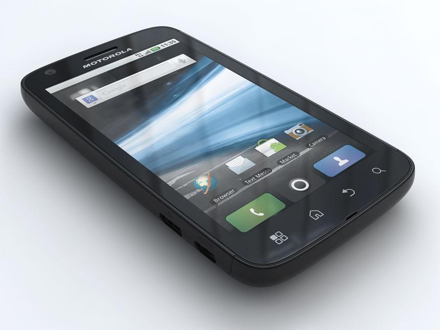 Motorola Atrix royalty-free 3d model - Preview no. 1