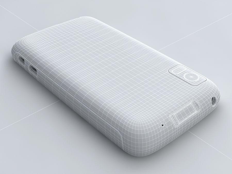Motorola Atrix royalty-free 3d model - Preview no. 22