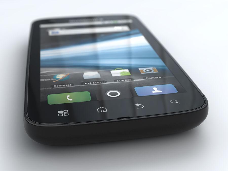 Motorola Atrix royalty-free 3d model - Preview no. 4