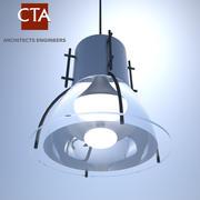 Ceiling Light (High Pressure Sodium) 3d model