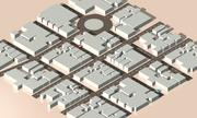 Isometric City 3d model