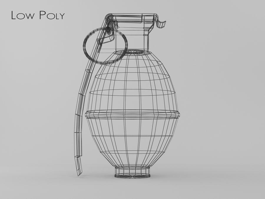 Grenade royalty-free 3d model - Preview no. 5