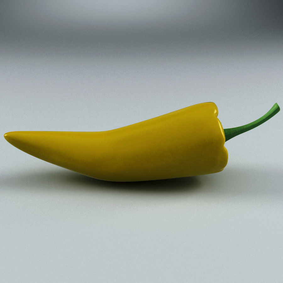 Peppers Hot royalty-free 3d model - Preview no. 9