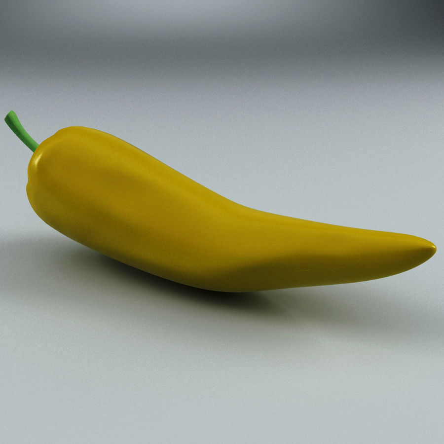 Peppers Hot royalty-free 3d model - Preview no. 11