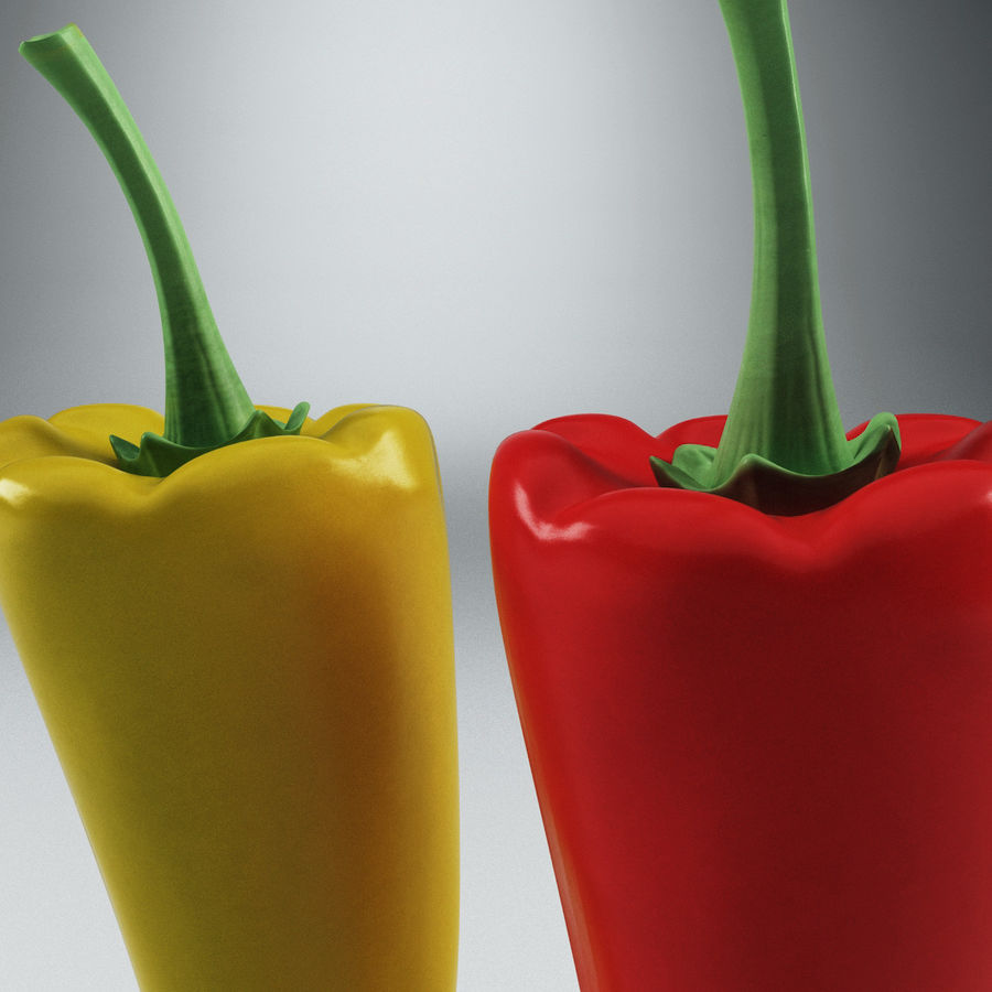 Peppers Hot royalty-free 3d model - Preview no. 7