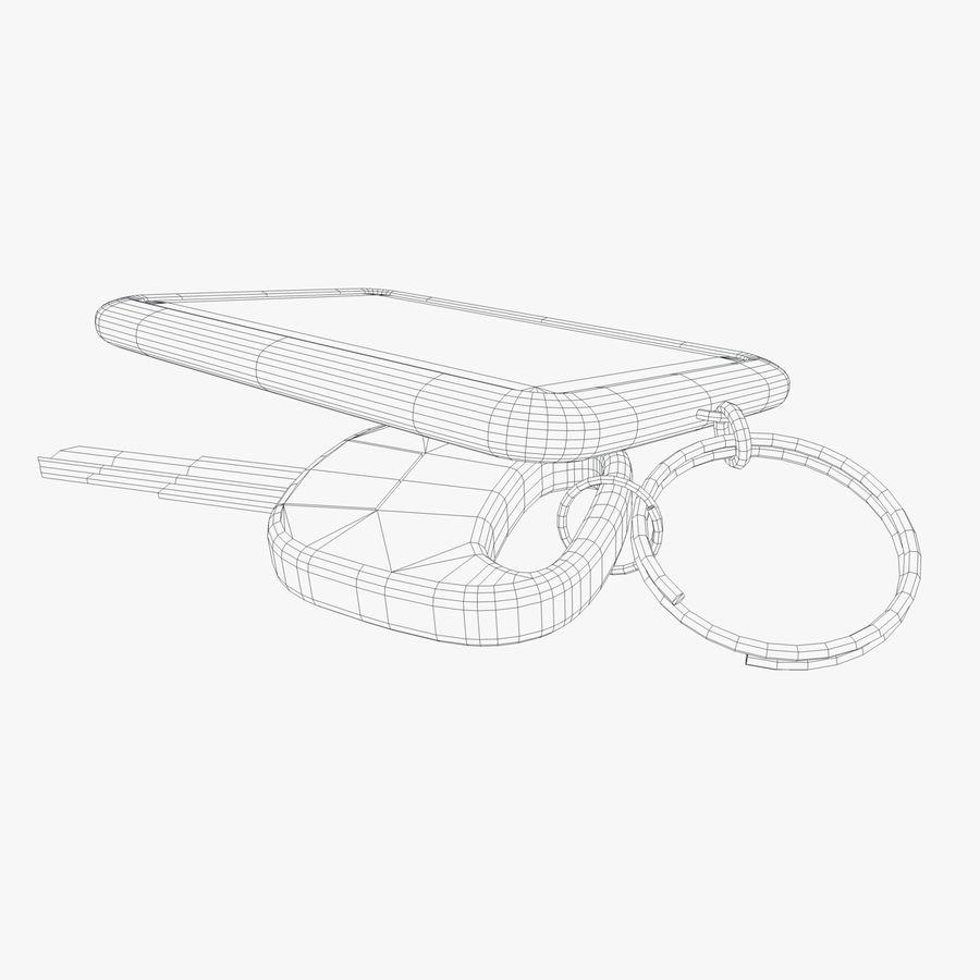 Key Chain royalty-free 3d model - Preview no. 6