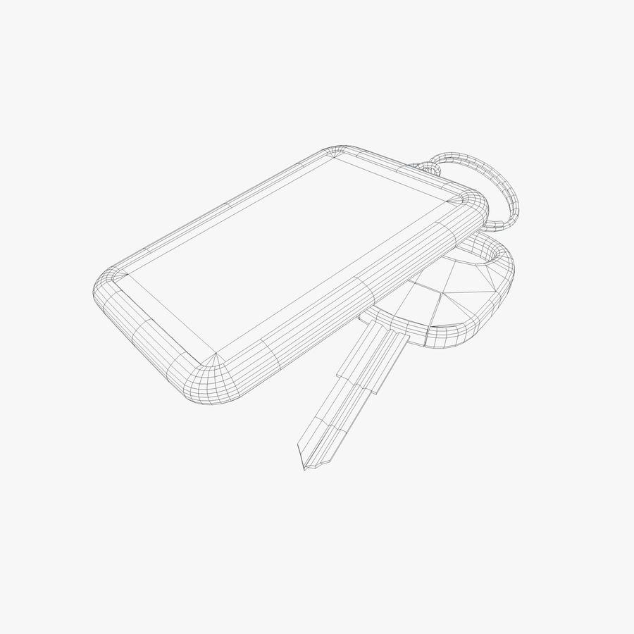 Key Chain royalty-free 3d model - Preview no. 2