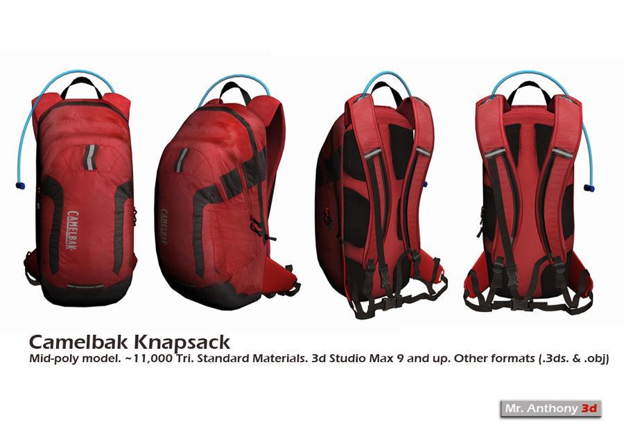 Camelbak Bag royalty-free 3d model - Preview no. 1