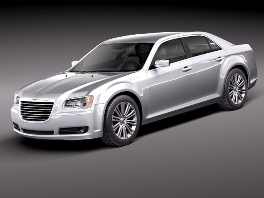 Chrysler 300c 2012 royalty-free 3d model - Preview no. 1