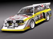 奥迪Sport Quattro S1 E2 3d model