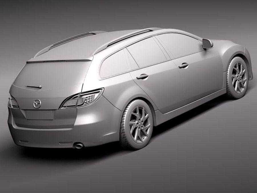 Mazda 6 wagon 2011 3D Model $99 - .obj .max .lwo .fbx .c4d .3ds - Free3D
