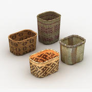 Baskets Native 3d model