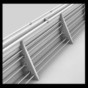 Ship Metal Handrail 3d model