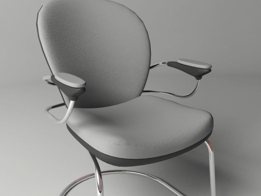 Office Chair royalty-free 3d model - Preview no. 4